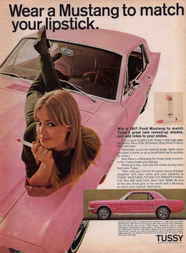 Win a 1967 Pink Mustang