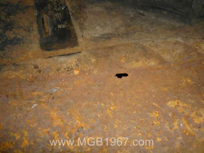 Hole in MGB fuel tank