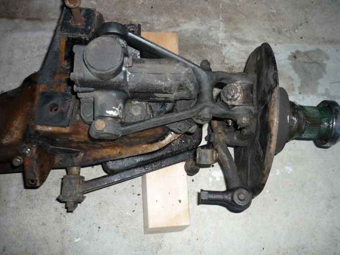 1967 MGB suspension when removed from car