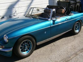 1973 MGB with Mazda 13B rotary engine