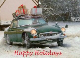 Happy Holidays MGB GT