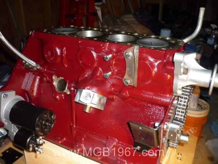 MGB 18V engine assembly