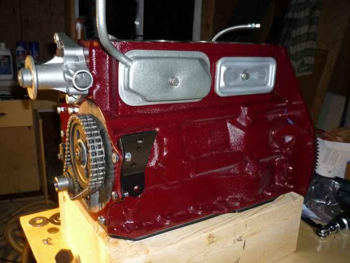 MGB 18V engine looking better