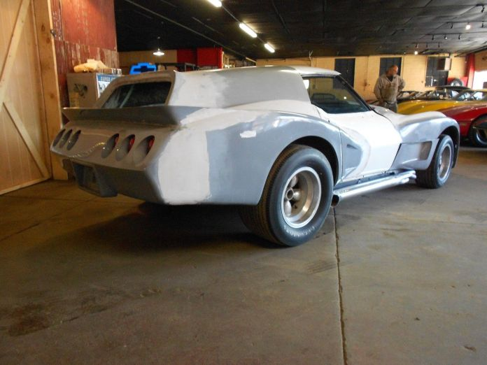 1970 custom Eklers Corvette looks even worse from the rear