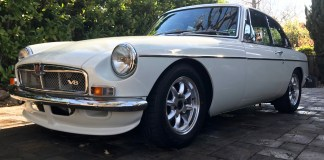 Beautiful 1973 MGB GT V8 5-Speed