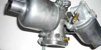Restored SU HS4 carburetor