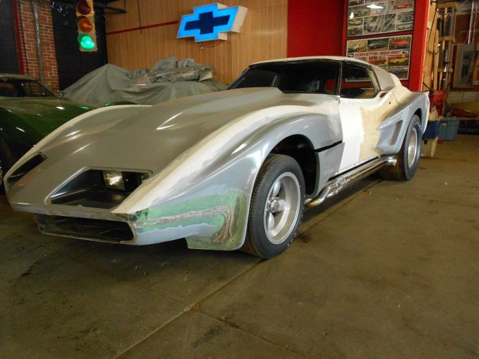 Ugly 1970 custom Eklers Corvette