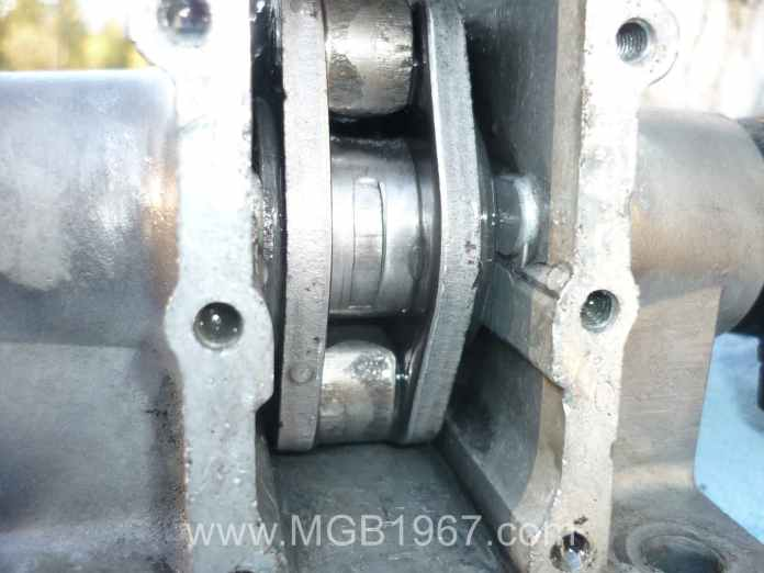 MGB Armstrong lever shock after cleaning