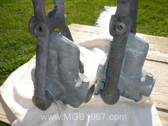 MGB Armstrong lever shock ready to paint