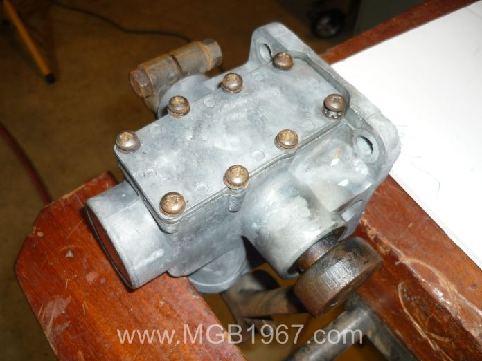 MGB Armstrong lever shocks screws
