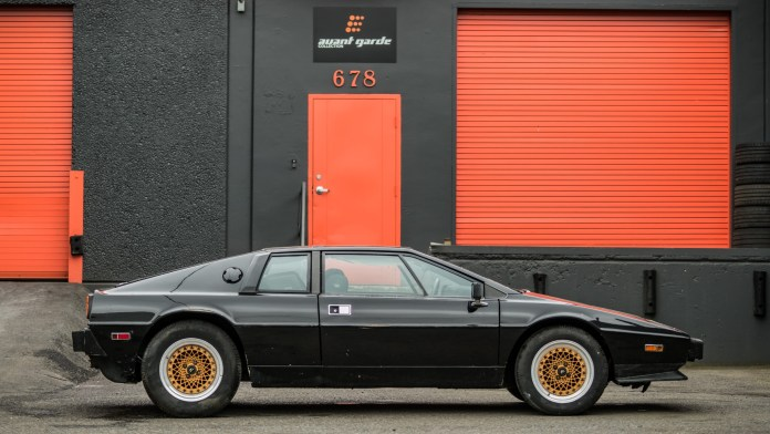 1978 Lotus Esprit project