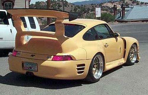 How to ruin a Porsche 911