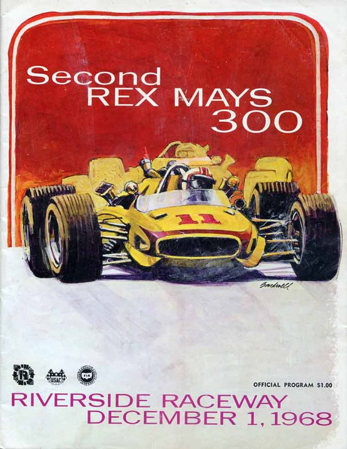 Second Rex Mays 300 Poster