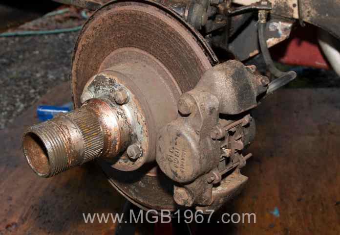 MBG GT front brakes
