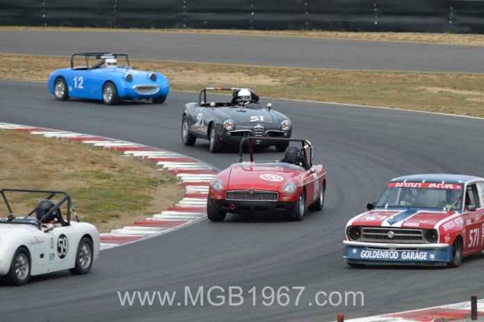 Vintage Racing MGB