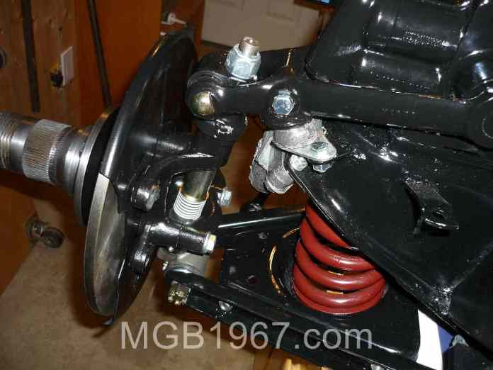 MGB GT front suspension