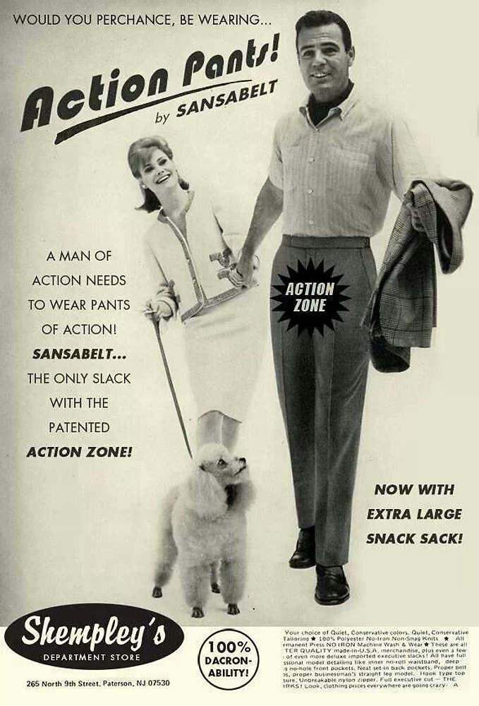 Action Pants by Sansabelt