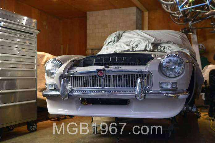 Moss Motors Special Tuning Spoiler installation