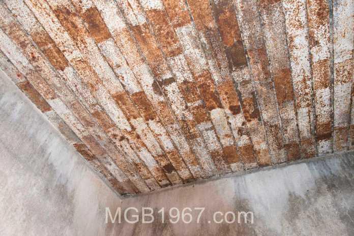 Rusty Ceiling Rhyolite