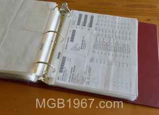 50 years of MGB GT receipts