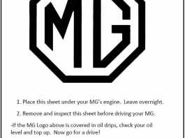 MG Inspection Sheet