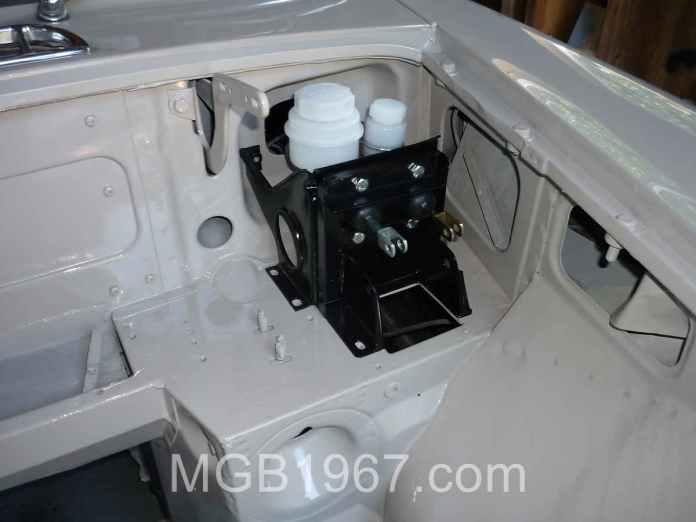 MGB GT pedal box