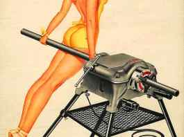 Ridgid April 1952 Pinup Chick