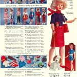 A selection of clothing for Tammy dolls by Ideal