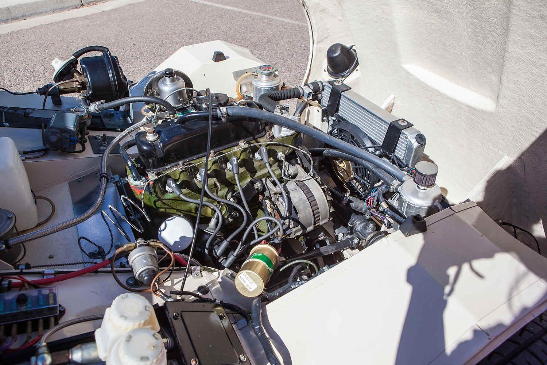 1962 MG Lenham GT Tribute engine