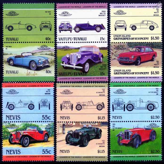 Island MG Stamps
