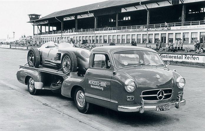 1955 Mercedes Benz Racecar Transporter