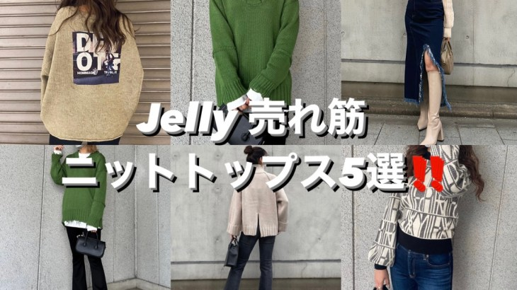 Jelly 売れ筋🤍ニットトップス5選🧶