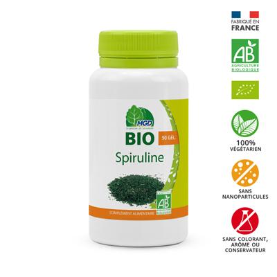 Spiruline bio (gélules)