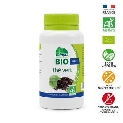 Complément alimentaire bio thé vert