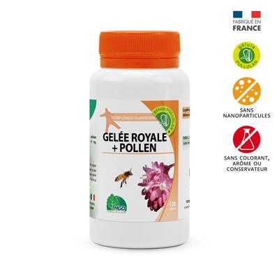 Complément alimentaire gelée royale et pollen