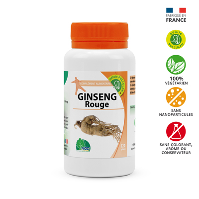 Complément alimentaire Ginseng rouge
