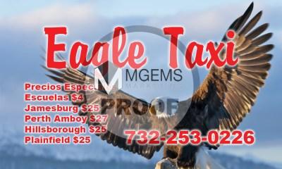 Eagle Taxi Business Card