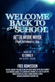 Welcome Back to School After Work Mixer