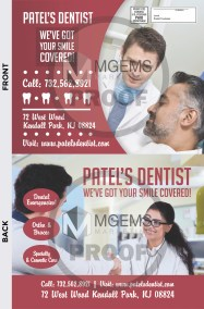 8x10 Dentist Postcard 001