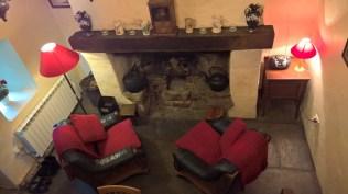 Galway, Ireland cozy fireplace