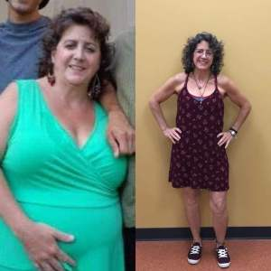 amy C transformation weight loss