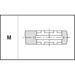 ganascia-profilo-M-CHIBRO-geberit-tiemme-kisan-cimberio-effebi-eurotubi-giacomini-oteraccordi-raccorderie-metalliche