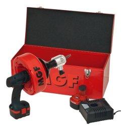 MDm-50-Batteria-stasatrice-portatile-per-disostruzione-lavandino-doccia-Water