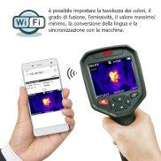termocamera a infrarossi Cam-320 con wifi