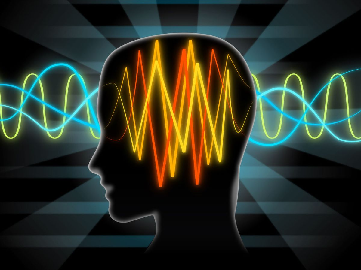 Alzheimer's disease brain waves