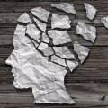 Alzheimer's disease crumbling brain