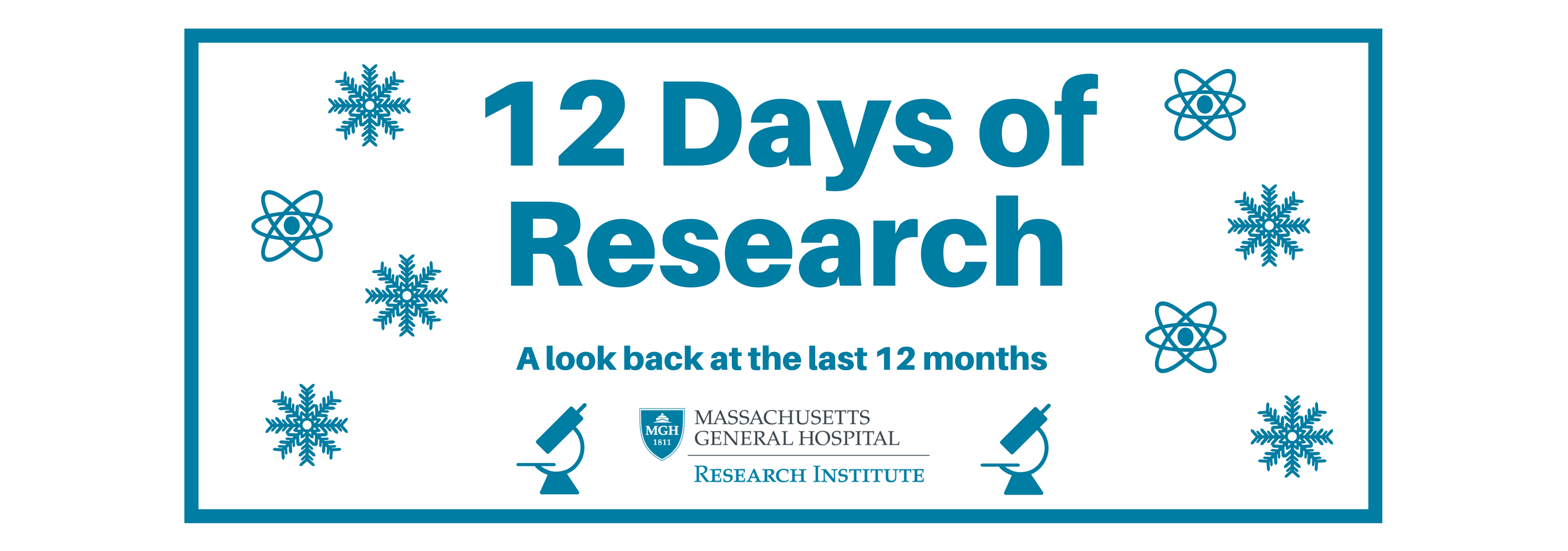 Banner 12 days of research