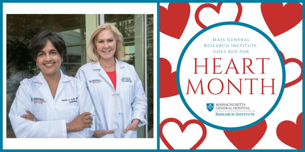 Nandita Scott, MD and Malissa Wood, MD, co-directors ofthe Corrigan Women's Heart Health Program