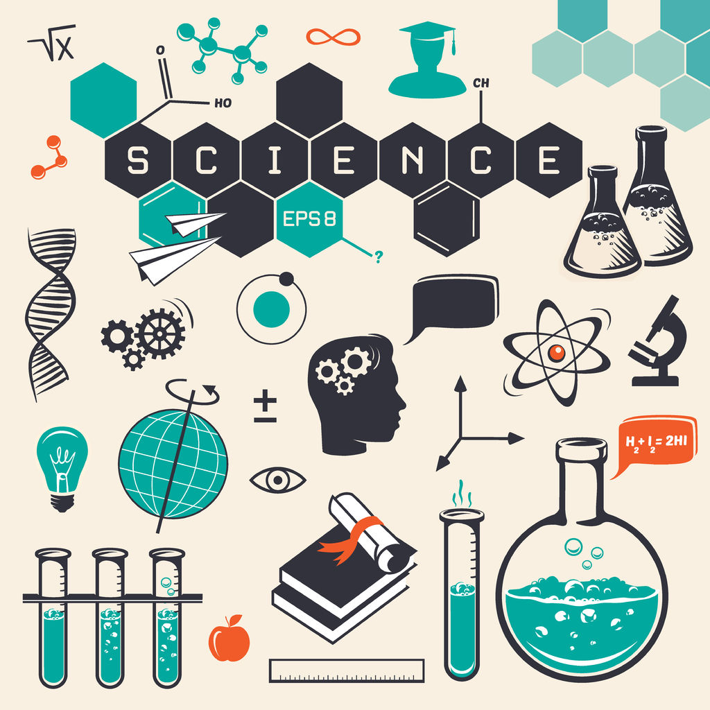 41772759 - science icons set