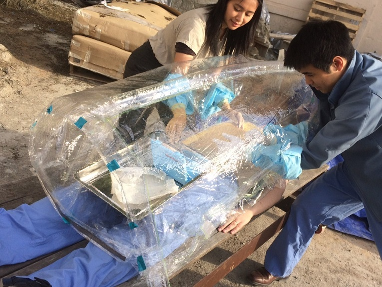Surgibox simulated surgery